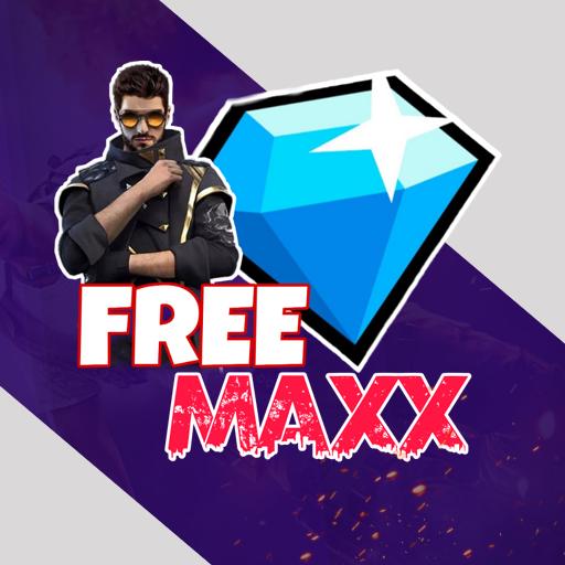 FREE MAXX : Free DJ ALOK, Diamonds & Elite Pass icon