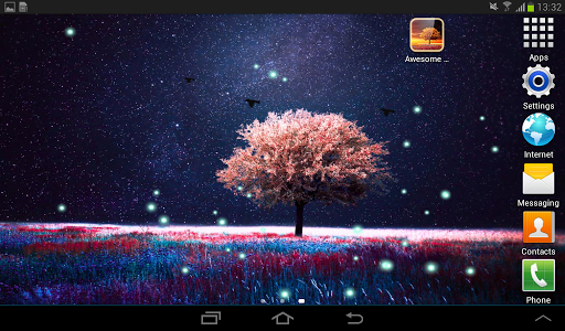 Awesome-Land Live wallpaper HD : Grow more trees screenshot 14