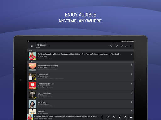 Audible: audiobooks, podcasts & audio stories screenshot 10