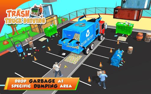 Urban Garbage Truck Driving - Waste Transporter screenshot 20