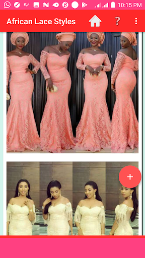 AFRICAN LACE STYLES 2021 screenshot 8