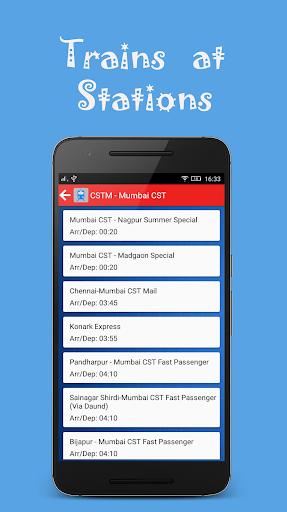 Indian Rail Offline Time Table screenshot 4