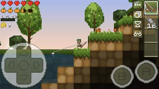 LostMiner: Block Building & Craft Game 3 تصوير الشاشة
