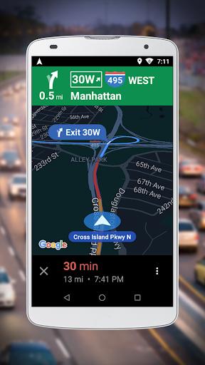Navigation for Google Maps Go 2 تصوير الشاشة