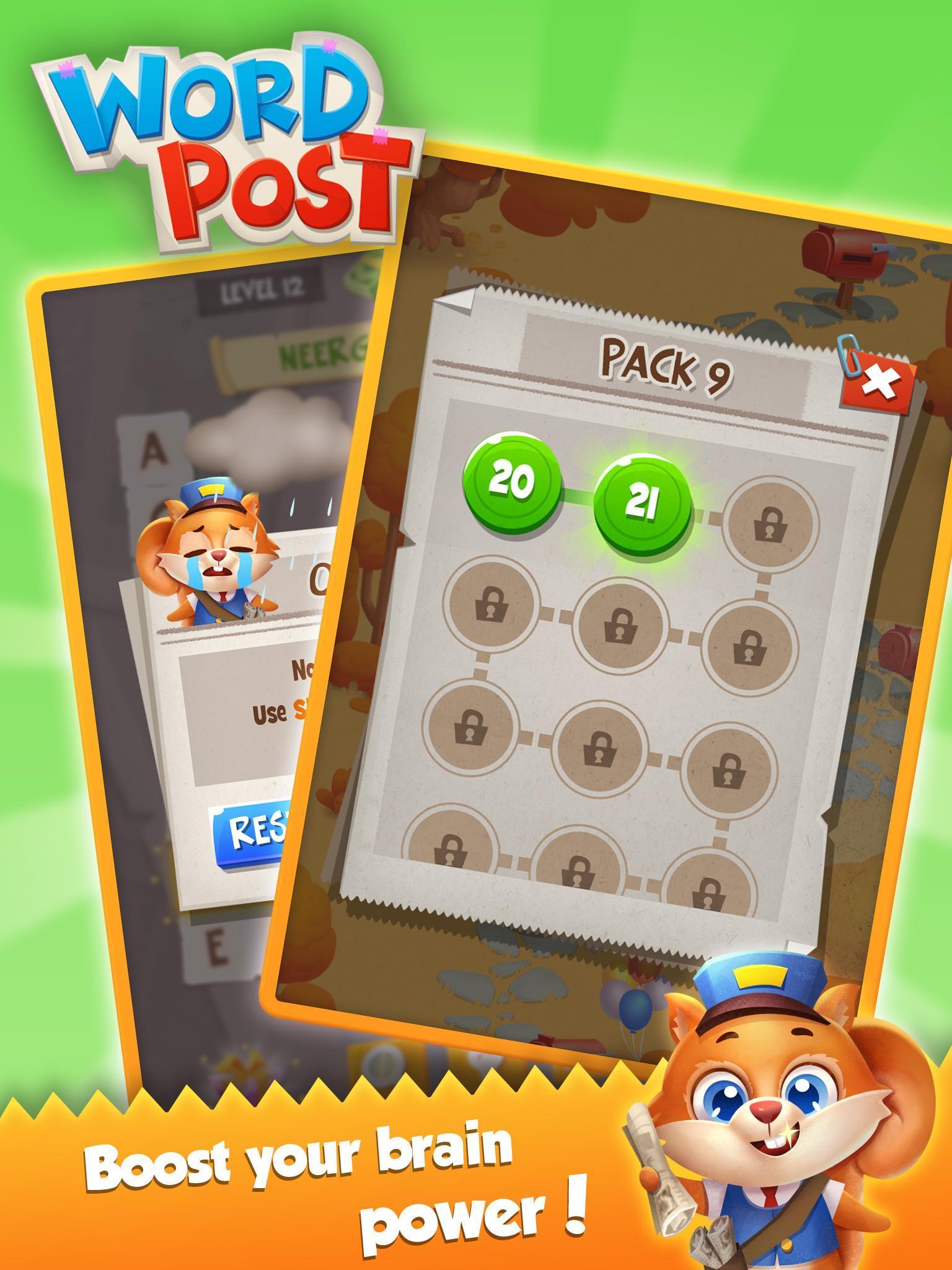 Word Post: Link & Crush Letters in Crossword Games screenshot 16