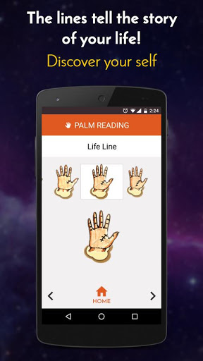 Palm Reading 4 تصوير الشاشة