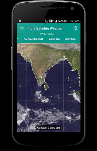 India Satellite Weather 1 تصوير الشاشة