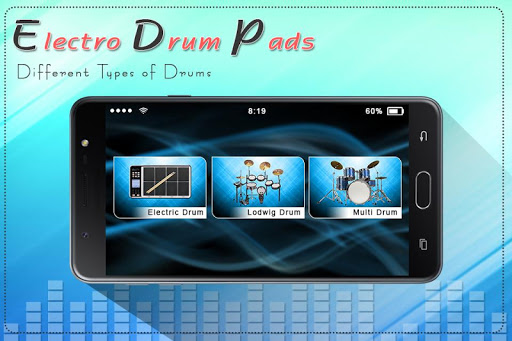 Electro Music Drum Pads: Real Drums Music Game screenshot 1