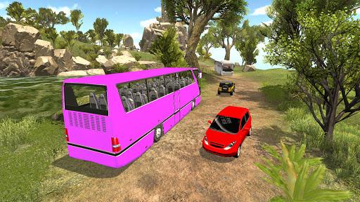 Offroad Hill Climb Bus Racing 2021 screenshot 3