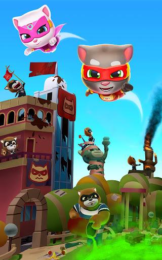 Talking Tom Hero Dash - Run Game screenshot 14