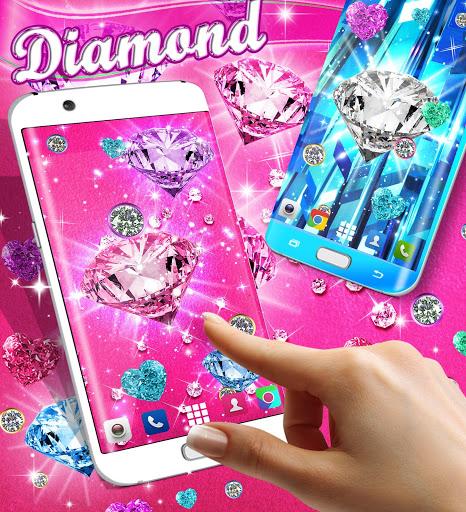 Diamond live wallpaper 3 تصوير الشاشة