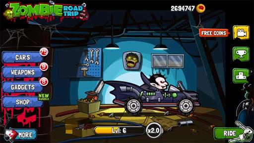 Zombie Road Trip 1 تصوير الشاشة