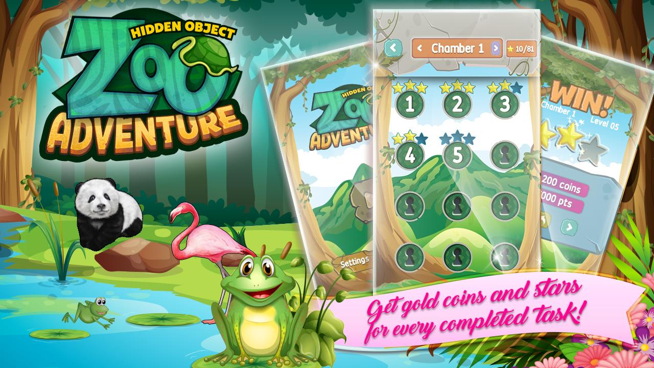 Zoo Adventure Hidden Objects 2 تصوير الشاشة