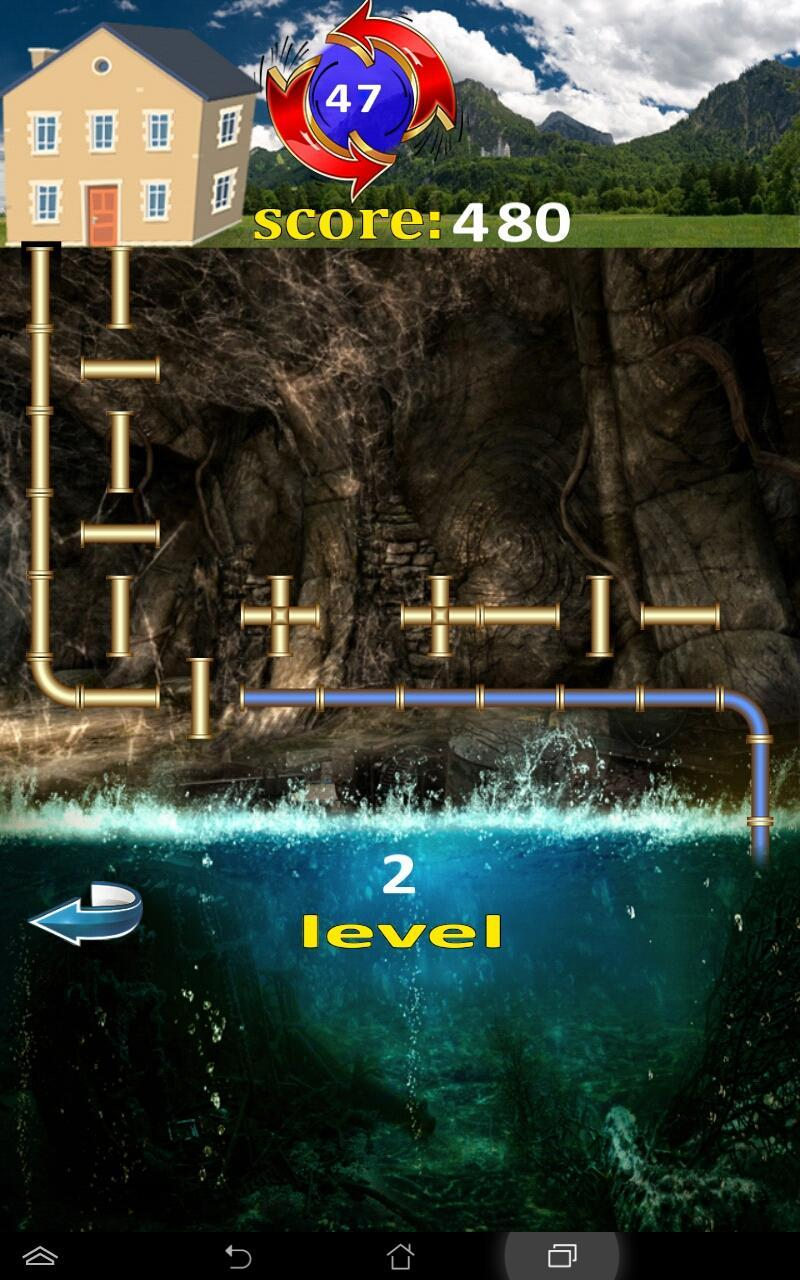 Plumber 911 labyrinth 3 تصوير الشاشة