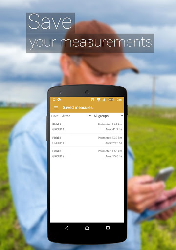 قياس منطقه الحقول 6 تصوير الشاشة