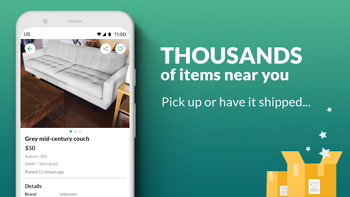 OfferUp: Buy. Sell. Letgo. Mobile marketplace screenshot 4