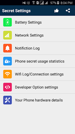 4G LTE/3G Network Secret Setting 1 تصوير الشاشة