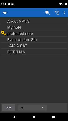NP-Notepad screenshot 1