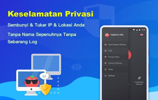 Free VPN Tomato | VPN Hotspot Percuma Terpantas screenshot 5