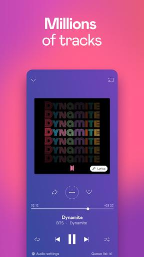 Deezer Music Player: Songs, Playlists & Podcasts screenshot 1