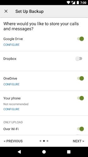 SMS Backup & Restore screenshot 5