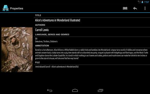 AlReader -any text book reader screenshot 13