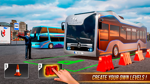 Modern Bus Simulator New Parking Games – Bus Games screenshot 2