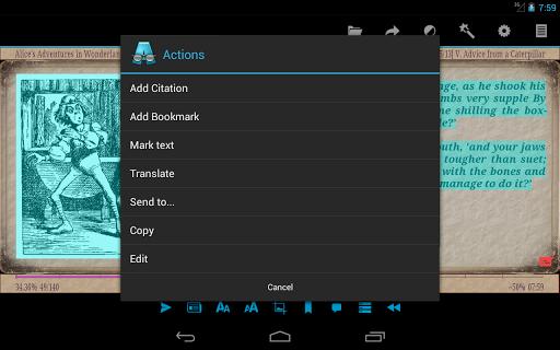 AlReader -any text book reader screenshot 15