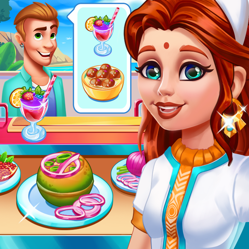 Game memasak India - makanan & restoran madness icon