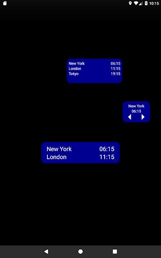 World Clock & Widget screenshot 3