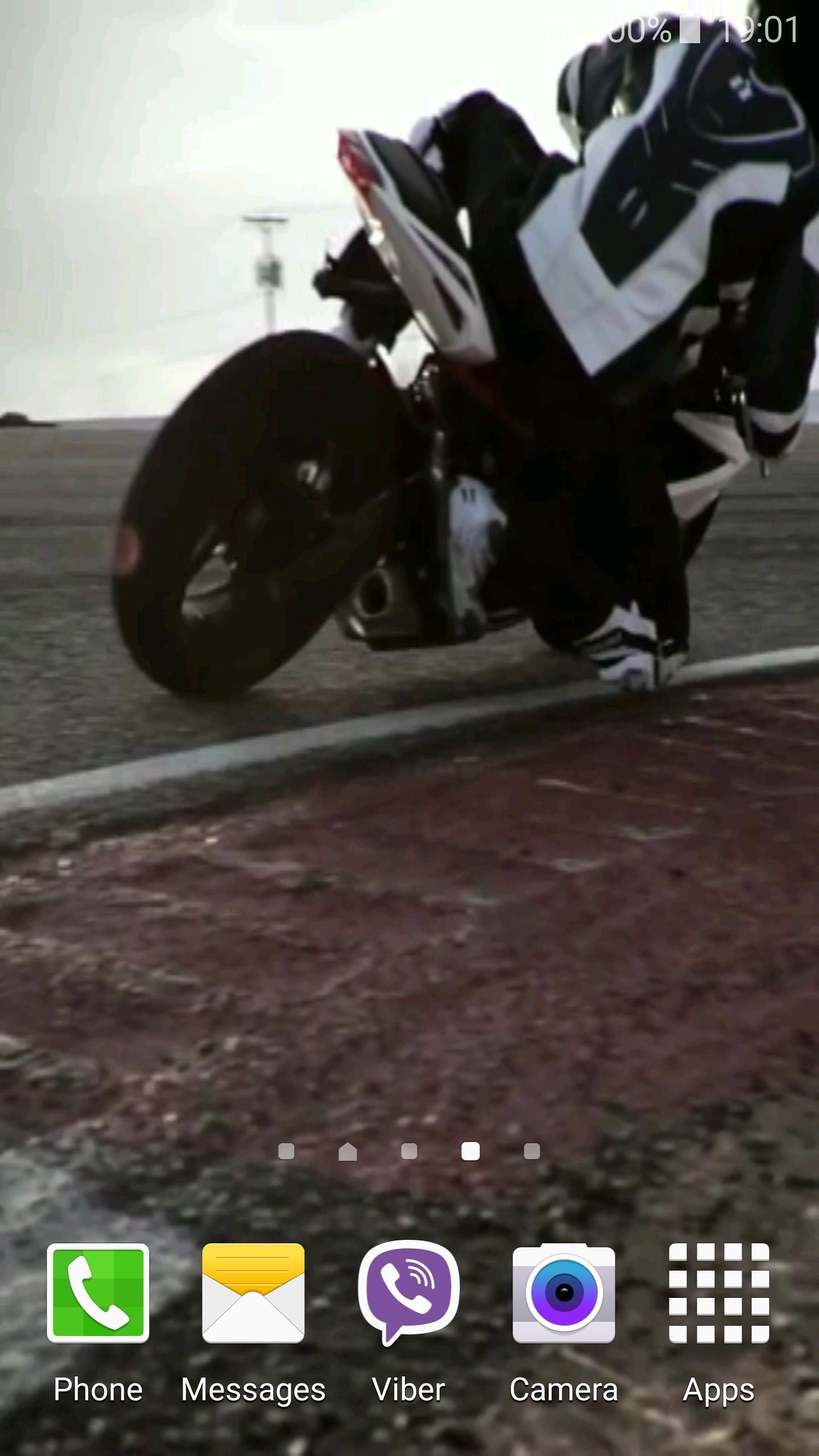 Motorcycle Video Wallpaper 4 تصوير الشاشة
