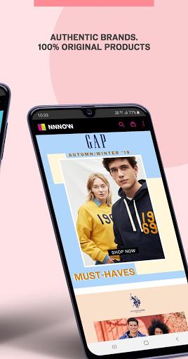 NNNOW Online Shopping App screenshot 2