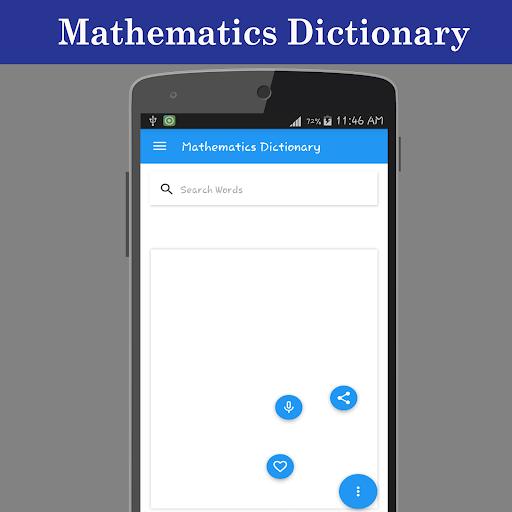 Mathematics Dictionary screenshot 2