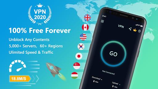 VPN Free - Unlimited Proxy & Fast Unblock Master स्क्रीनशॉट 1