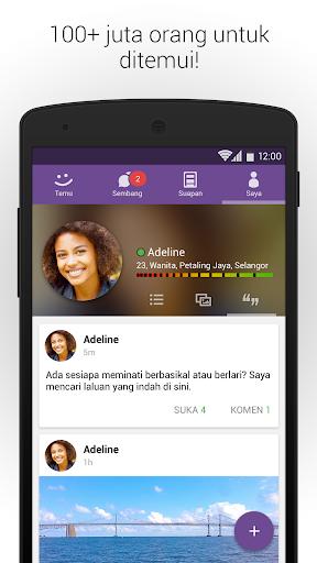 MeetMe - Bersiaran, Bual, & Berjumpa orang baru! screenshot 5