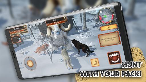 Wolf Simulator Evolution screenshot 1