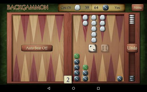 Backgammon Free 13 تصوير الشاشة