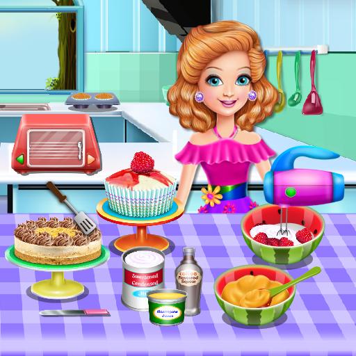 सैंड्रा खाना पकाने के खेल आइकन