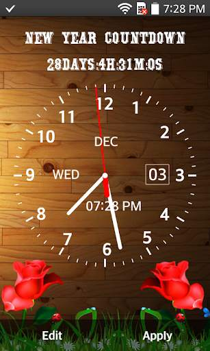 Clock Live Wallpaper - Analog, Digital Clock 2020 screenshot 2