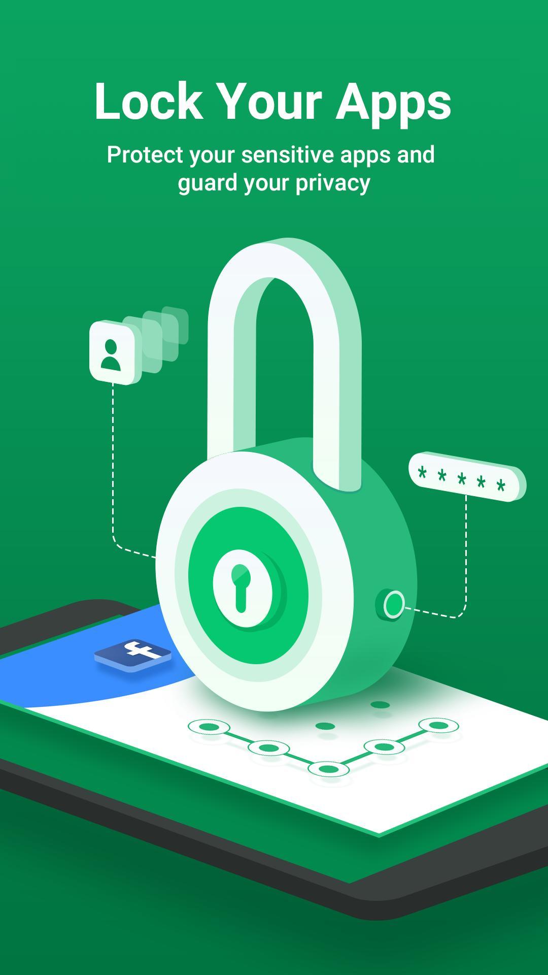 AppLock - Lock Apps, PIN & Pattern Lock screenshot 1