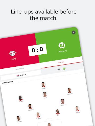 BUNDESLIGA - Official App 15 تصوير الشاشة