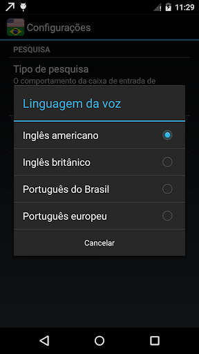 Brazilian English Dictionary OFFLINE screenshot 3