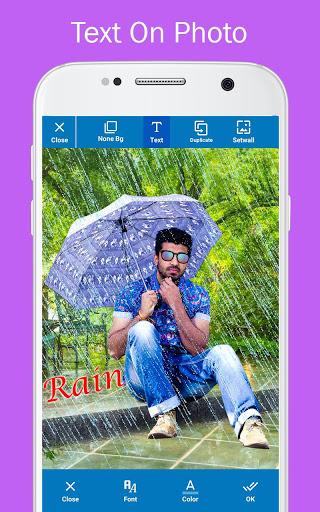 Rain Photo Editor and Frames 6 تصوير الشاشة