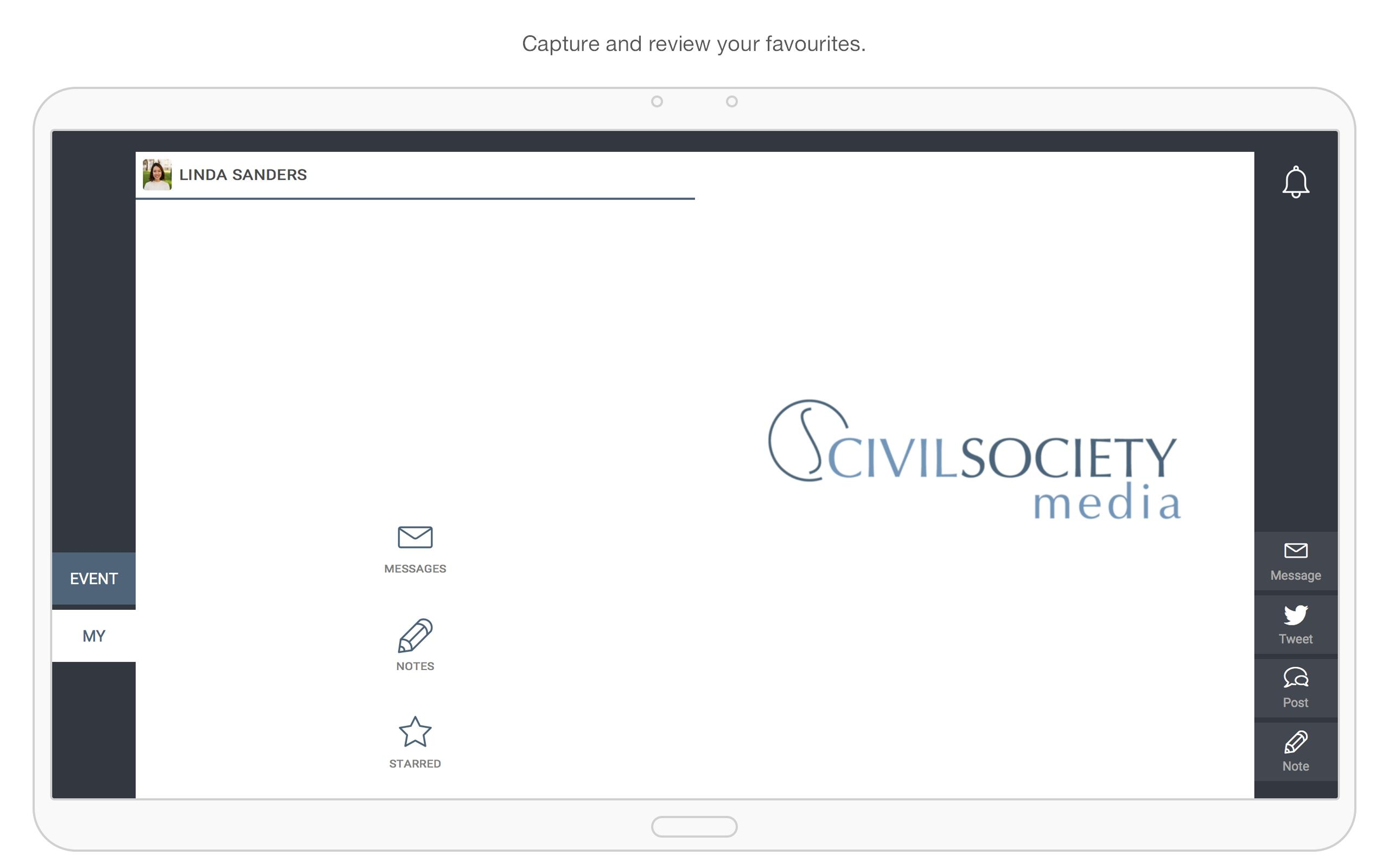 Civil Society Media Events screenshot 6