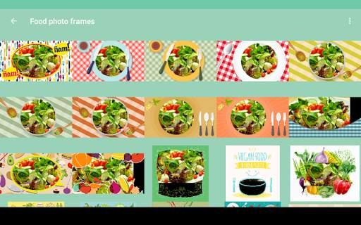 Food photo frames screenshot 10