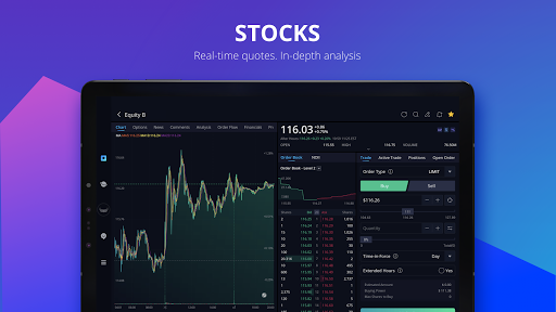 Webull: Investing & Trading. All Commission Free screenshot 10