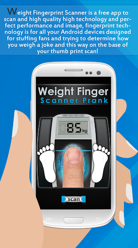Weight Finger Scanner Prank 5 تصوير الشاشة