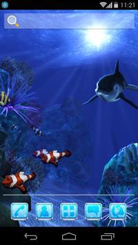 UR 3D Ocean Dolphin Shark HD screenshot 6