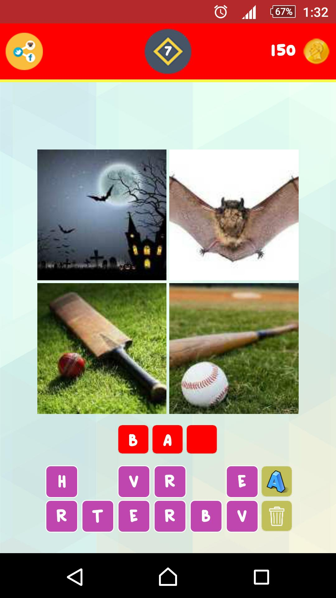 1 Word 4 Pictures Puzzle screenshot 4