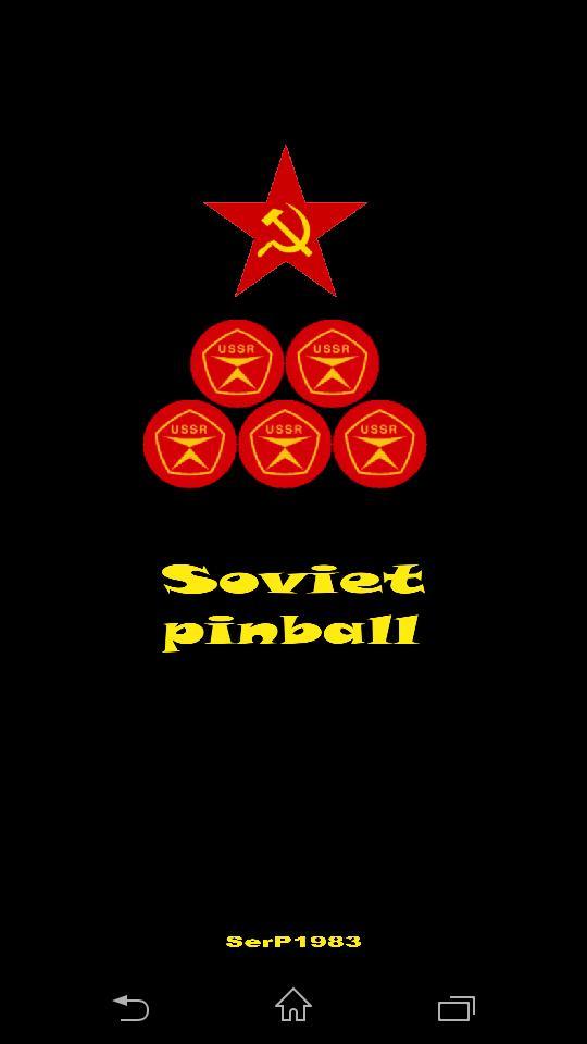 Soviet pinball screenshot 1